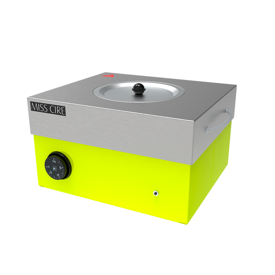 Hybrid Neon Yellow Large Wax Warmer - 5 Lb