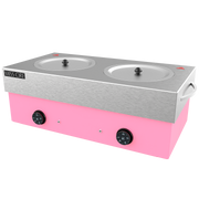 Extra Large Double Hybrid Pink Wax Warmer - 10 Lb x 2 (20 Lb Total)