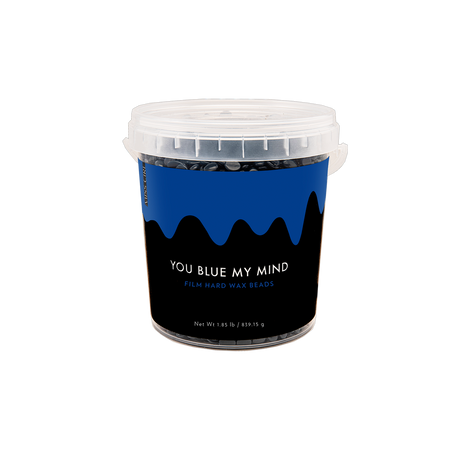 You Blue My Mind Polymer-based Film Hard Wax Beads - 1.85 LB (BULK)