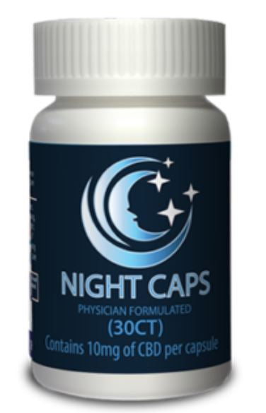 CBD Nightcaps  30 CT - 10MG (Physician Formulated) - cbd2live.com