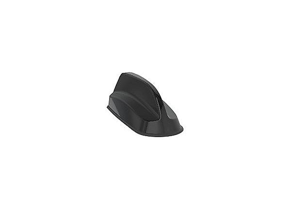 Sierra Wireless AirLink 2in1 SharkFin Antenna - 2xLTE, Bolt Mount, 4m, Black