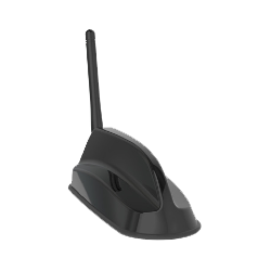 Sierra Wireless AirLink 6in1 SharkFin Antenna - 2xLTE, GNSS, 3xWiFi, 2.4/5GHz, Bolt Mount, 4m, Black