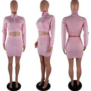 Pretty Diva mini skirt Tracksuit