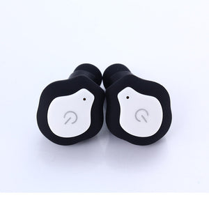Mini stereo bluetooth earbuds