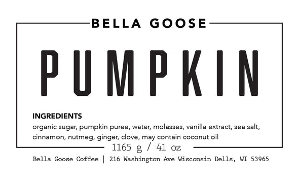 Wilderness Pumpkin Syrup (1 Case)