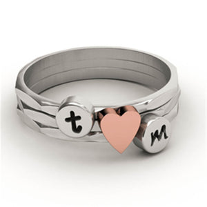 Lower Case Initial Ring