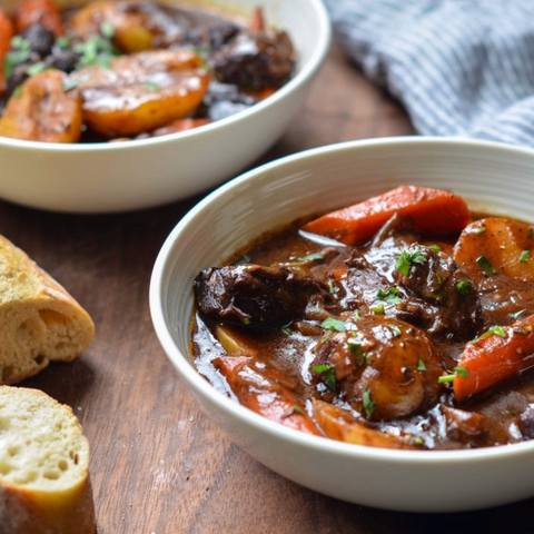 Beef Stew with Bone Broth