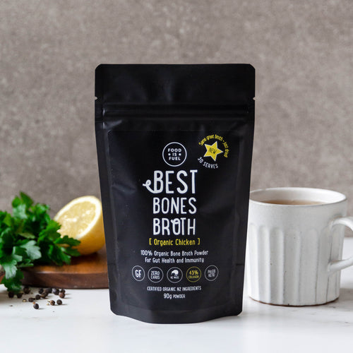 Organic Chicken Bone Broth Powder 90g