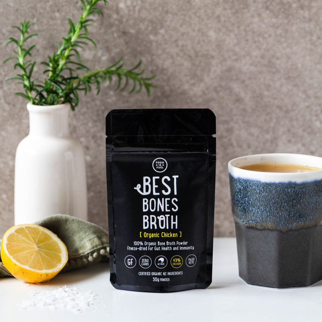 Organic Chicken Bone Broth Powder 30g