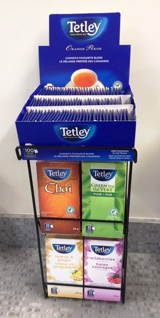 Tetley String & Tag 5pc rack (empty)