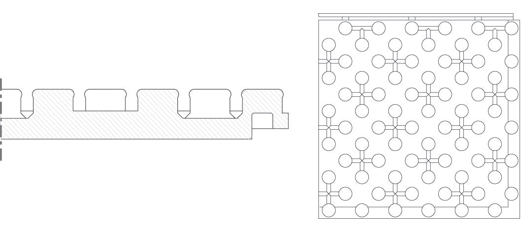 Standard Floor Insulating Panel Diagram