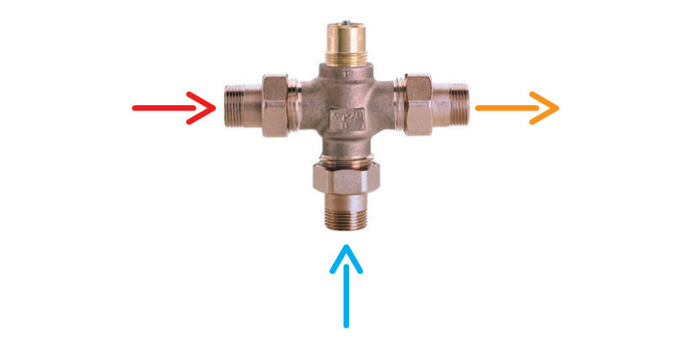 3-way Mixing Valve for Weather Compensating Kit