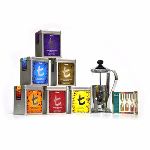 Dilmah Christmas and New Year Tin Caddies 100% Pure Ceylon Tea