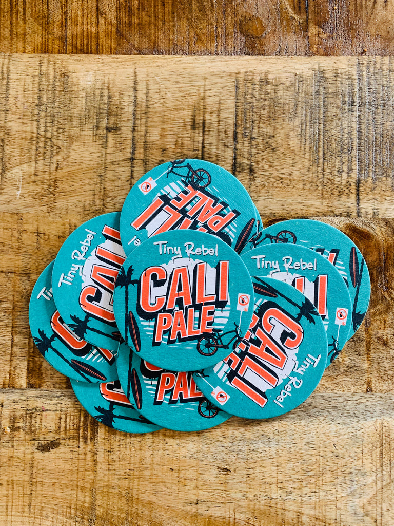 Cali Pale Beer Mats