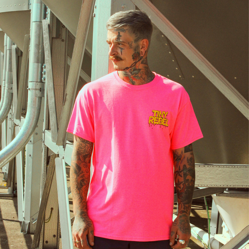Pink Melting T-Shirt