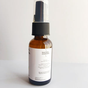 Sacral Chakra - Meditation/Body Mist - Made with