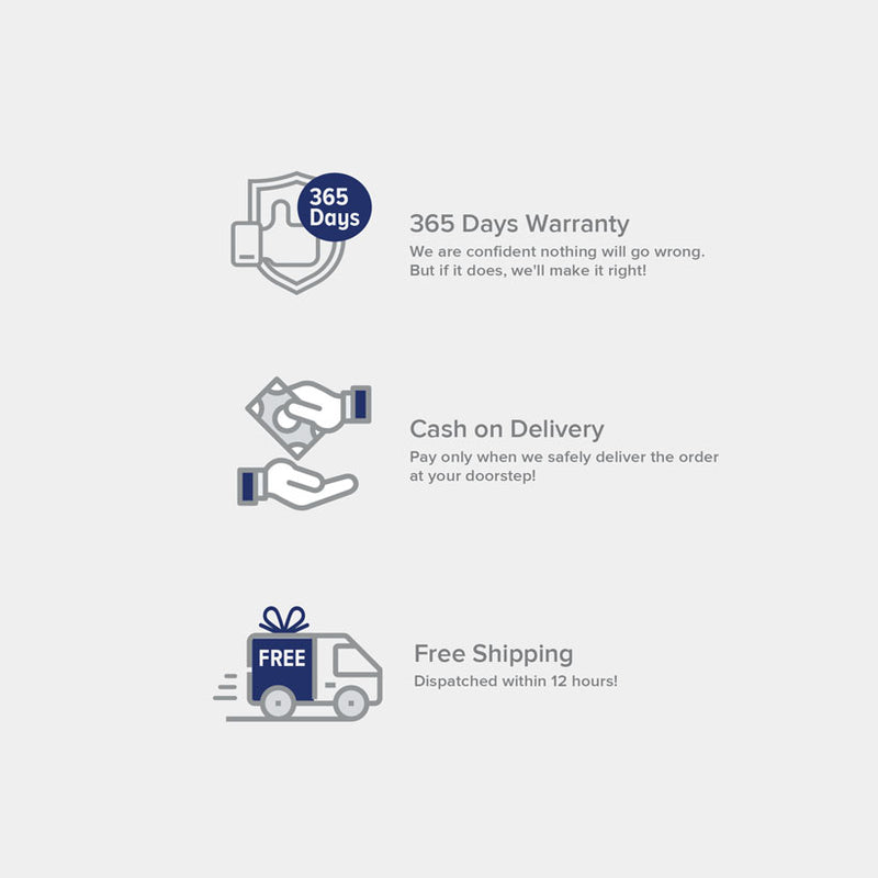 VoxForth provides 365 days warranty, express delivery and free shipping.