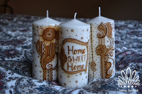 """Your Idiom Here"" Candle Set (3)"