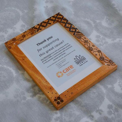 Patterned Henna Frame