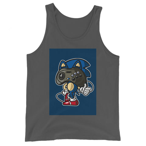 Player Head 2 - Unisex Tank-Top