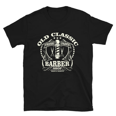 Old Classic Barber - Unisex T-Shirt