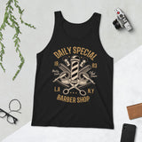 Daily Special Barber Shop - Unisex Tank-Top