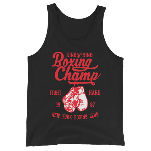Boxing Champ - Unisex Tank-Top