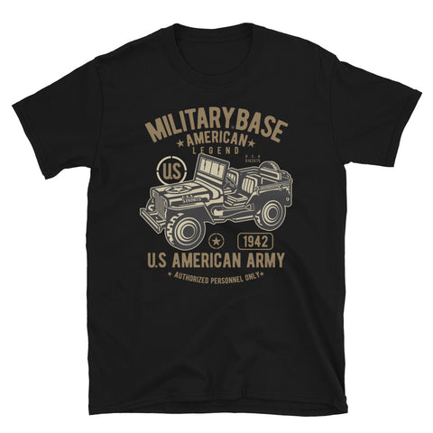 Army Jeep - Unisex T-Shirt