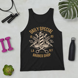Daily Special Barber Shop - Unisex Tank Top