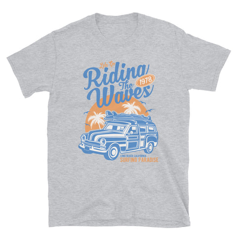 Riding The Waves - Unisex T-Shirt