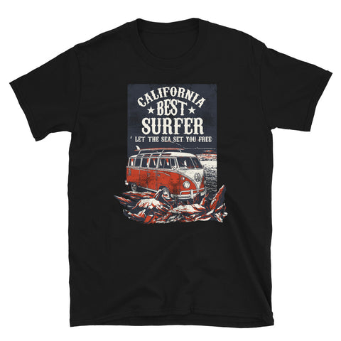 California Best Surfer - Unisex T-Shirt