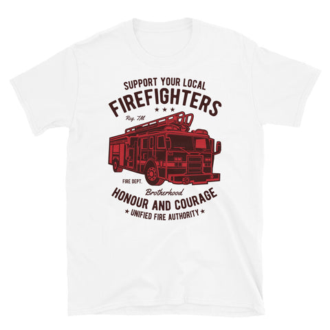 Fire Fighters Truck - Unisex T-Shirt