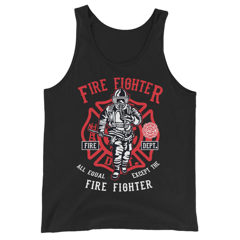 Fire Fighter - Unisex Tank-Top