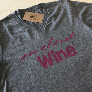 On Cloud Wine- Gray T-Shirt