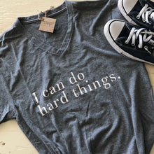 X-I Can Do Hard Things - V-Neck T-Shirt