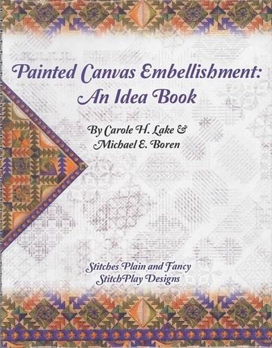 Painted Canvas Embellishment An Idea book needlepoint