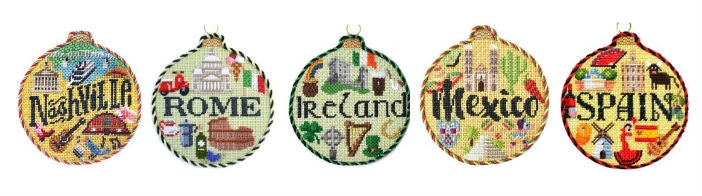 needlepoint travel rounds