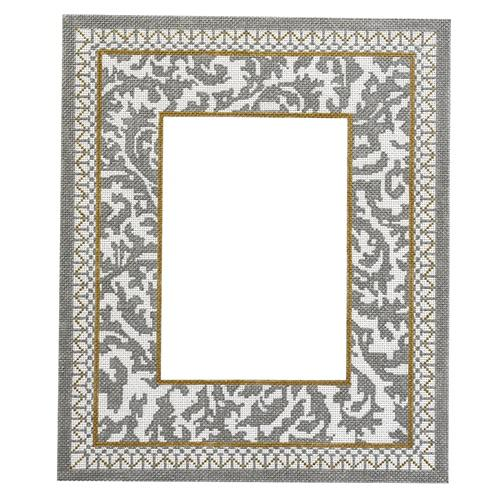 25th Silver Anniversary Frame - No Numbers Painted Canvas The Meredith Collection