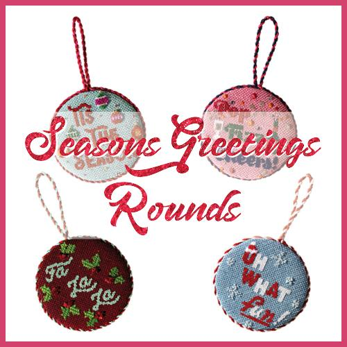 All Seasons Greetings Kit & Online Needlepoint Class Online Course Needlepoint.Com