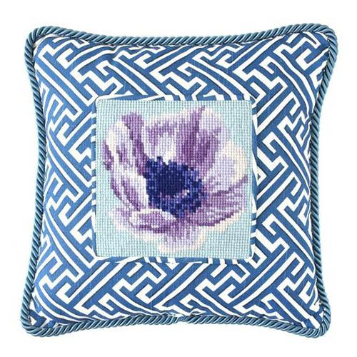 Anemone Needlepoint Kit Kits Elizabeth Bradley Design