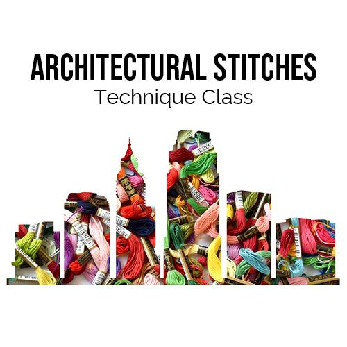 Architectural Stitches Online Course Needlepoint.Com