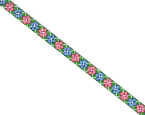 Argyle Sunglass Strap Painted Canvas Danji Designs