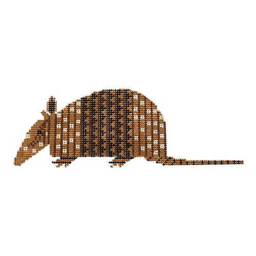 Armadillo Painted Canvas Charley Harper