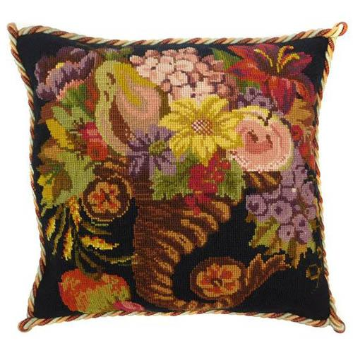 Autumn Cornucopia Needlepoint Kit Kits Elizabeth Bradley Design