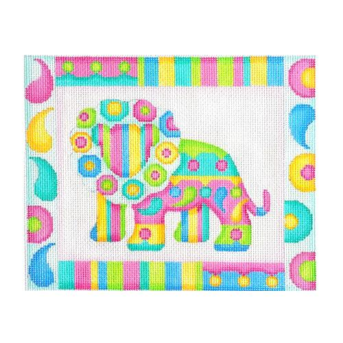 Baby Sign - Lion Painted Canvas Burnett & Bradley