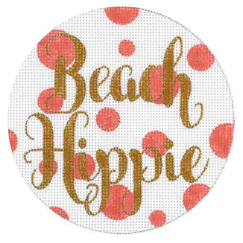 Beach Hippie Painted Canvas A Poore Girl Paints