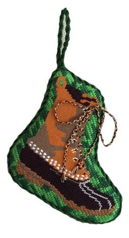 Bean Boot Painted Canvas All About Stitching/The Collection Design