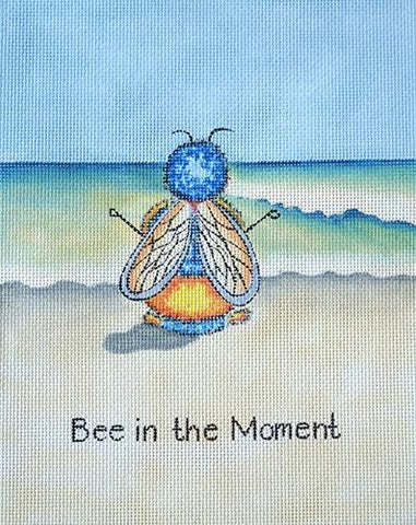 Bee in the Moment Painted Canvas HSN Designs