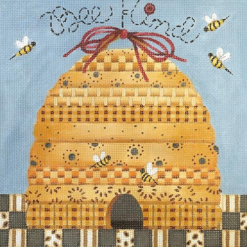 Bee Kind Painted Canvas Melissa Shirley Designs