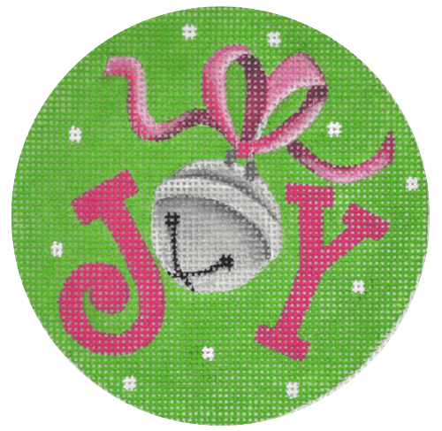 Bell with Joy Painted Canvas Pepperberry Designs